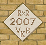 Plaque, Vincent Kane Blackett, Builders